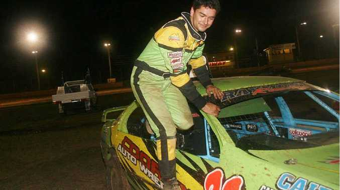 Aiden Raymont will be one driver looking to take King of the Mountain honours tomorrow.
