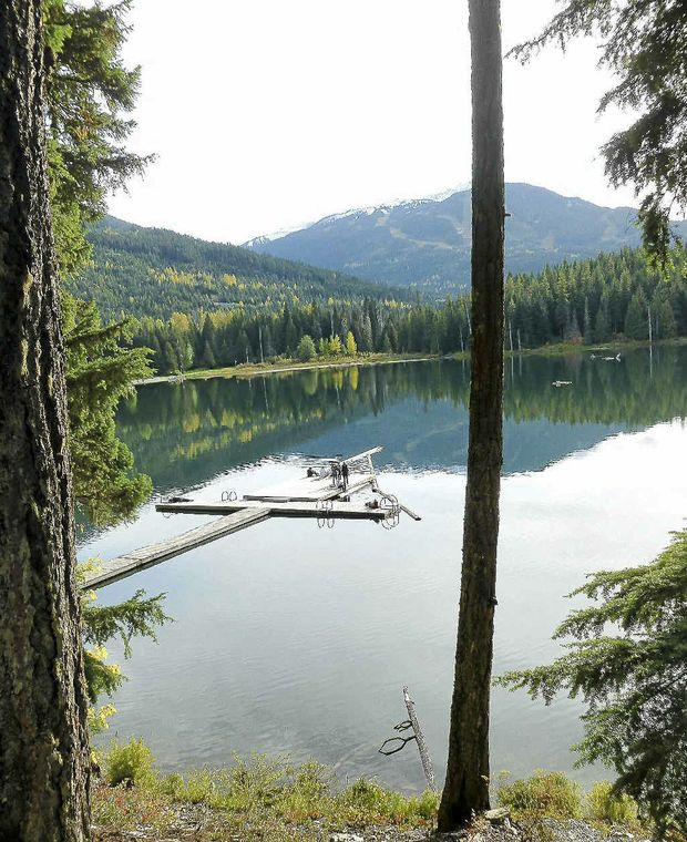 PLACID LAKE: The serenity at Banff.