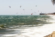 Mui Ne is fast becoming a hub for wind water sports.