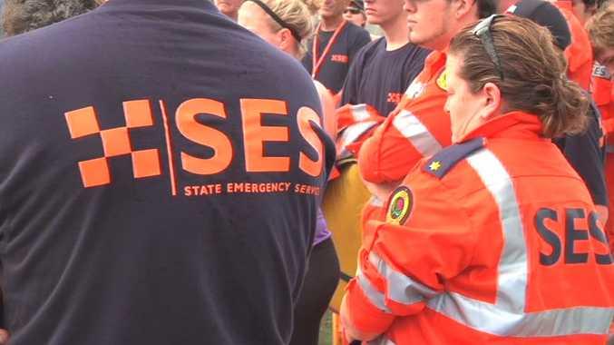 SES volunteers