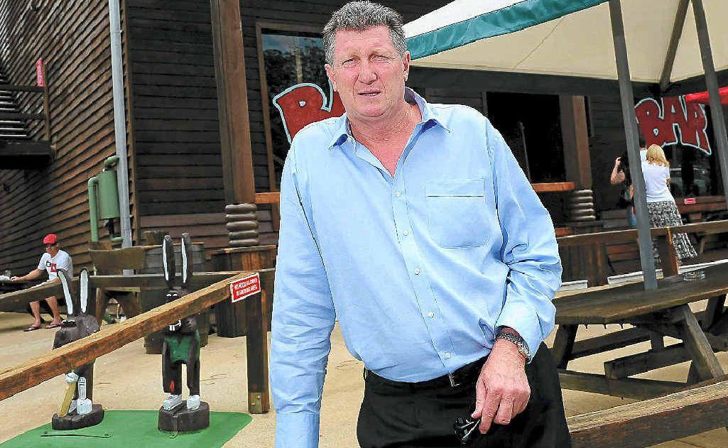 General manager of Aussie World and Ettamogah Pub, David Thompson.