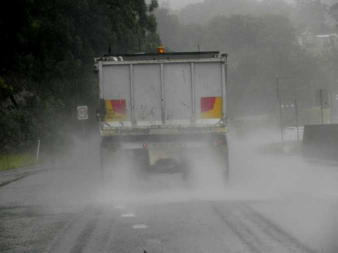 Council is reminding residents to drive to conditions during this wet weather period.