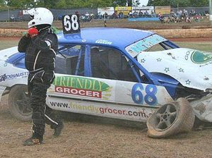 Speedway carnage on the mountain