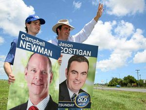 Candidates hit the election road