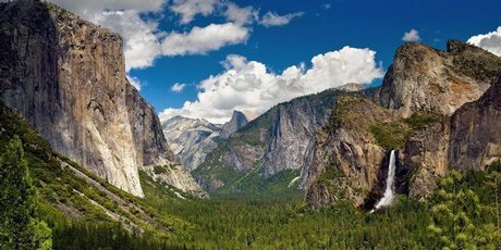 Yosemite National Park, Mariposa County, California.