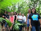 Mooloolah River Watch and Landcare manager Jan Kesby, far right, and volunteers are busy organising frog workshops.
