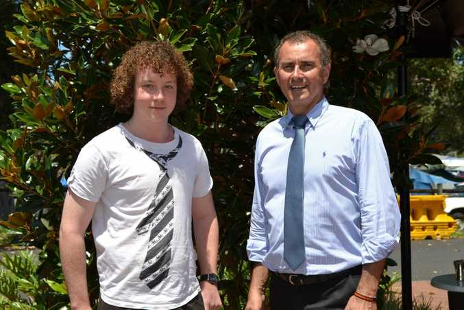 PUBLIC SPEAKER: Taylor McBeath of Broadwater is preparing to go to Sydney to learn more about parliamentary process thanks to sponsorship by Member for Clarence, Chris Gulaptis. Photo Samantha Elley / Rivertown Times