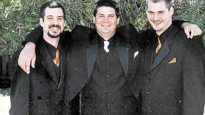 The Murphy brothers, from left, Craig of Goonellabah, Scott of Lismore and Glenn of Lismore.