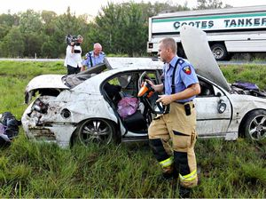Woman dies after highway rollover