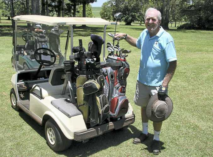 MILESTONE YEAR: Isis Golf Club vice-president Ken Albion is one member who will be looking forward to the group's centenary celebrations this year.