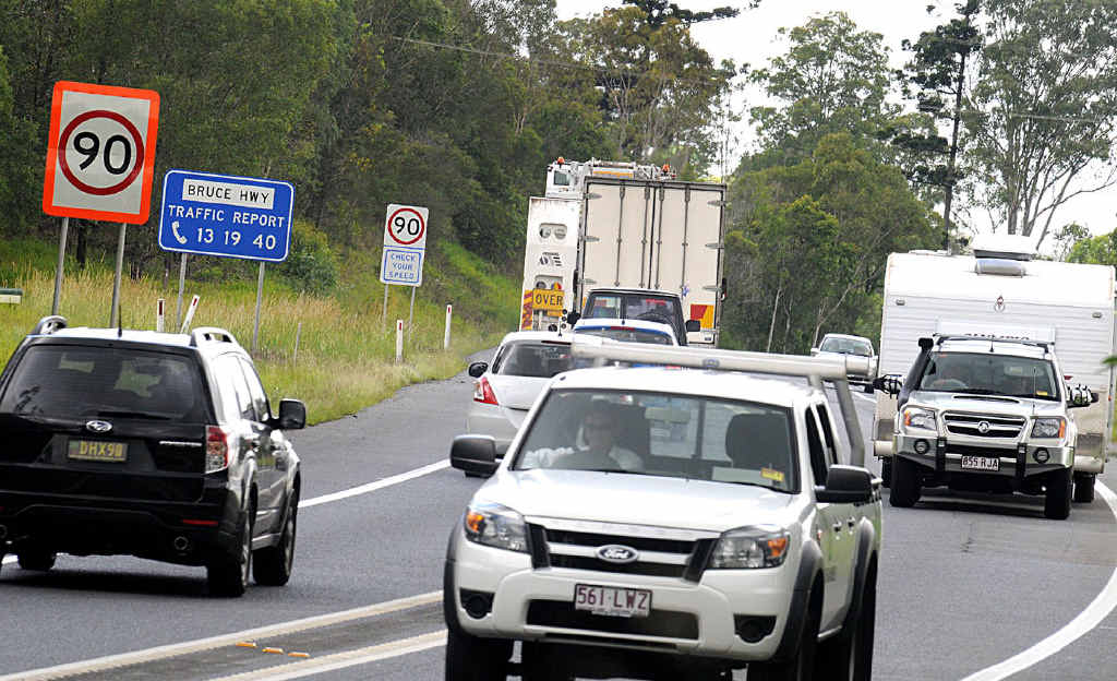 Relocations over the next few weeks on the Bruce hwy will pave the way for further highway works on the Cooroy to Curra upgrade south of Gympie.