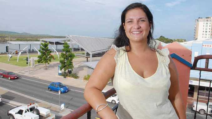 Bianca Nichols, 28, from Melbourne, would like Mackay to provide more water activities.