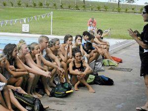Swim meet draws crowd