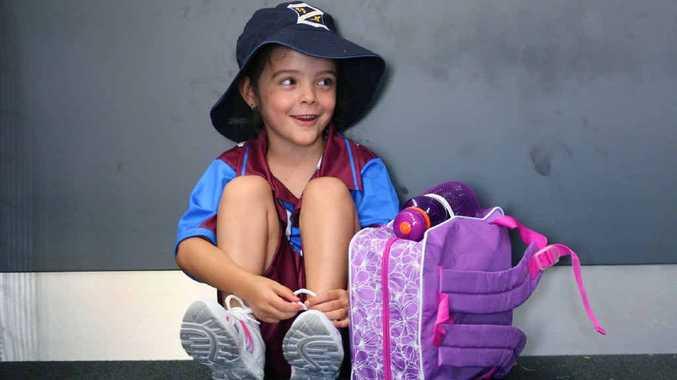 Karen Messmer is ready to start school this year.