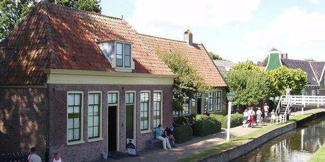 Zuiderzee Museum in Enkhuizen, near Amsterdam, The Netherlands.