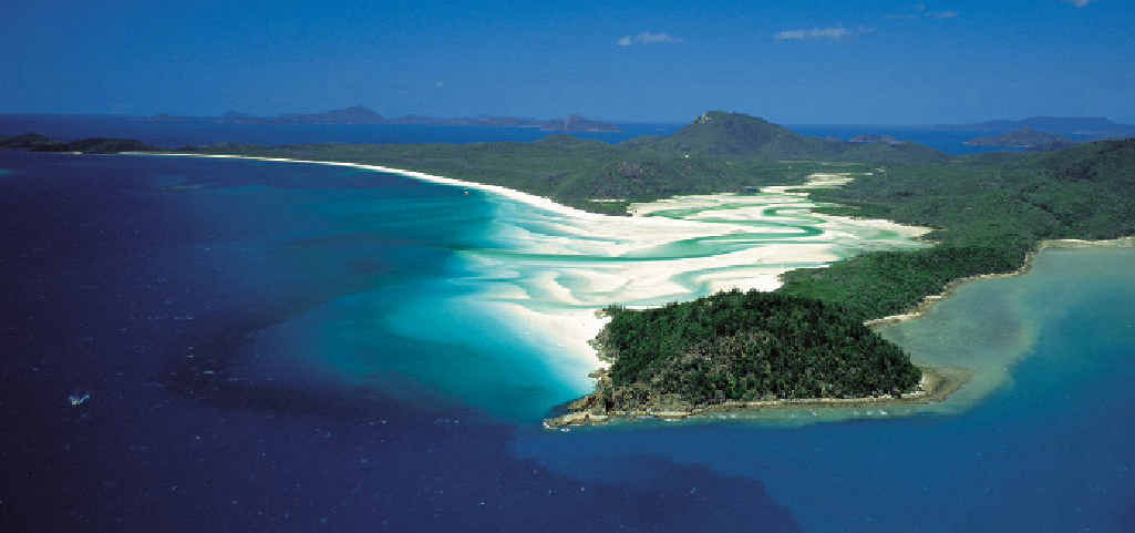 ROMANTIC SPOT: Tongue Bay, Hill Inlet and Whitehaven Beach