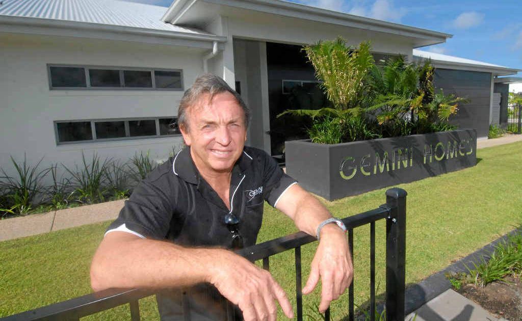 Graham Stritzke said one reason building approvals in Mackay have doubled was due to the availability of display homes. People can look at a home that suits our climate and lifestyle and get the contract started, he said.