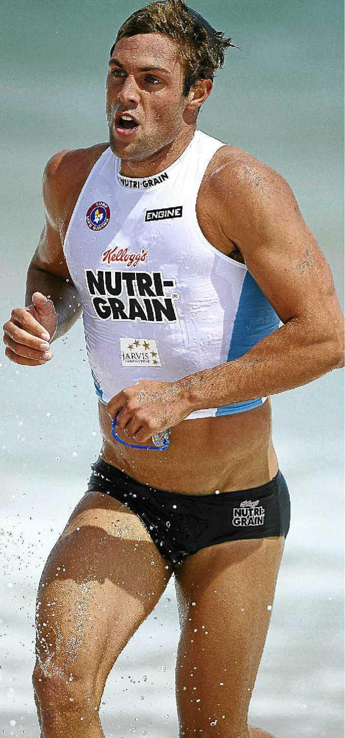 Three-time Australian junior ironman champion Kendrick Louis is leading the Nutri-Grain Ironman Series.