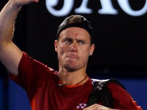 Lleyton Hewitt's bid for a fifth Queen's title has ended