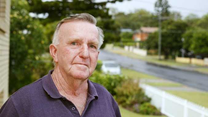Retired fire fighter Athol Harding of Brassall recalls the night he fought the huge fire at Reids department store in the Ipswich CBD.