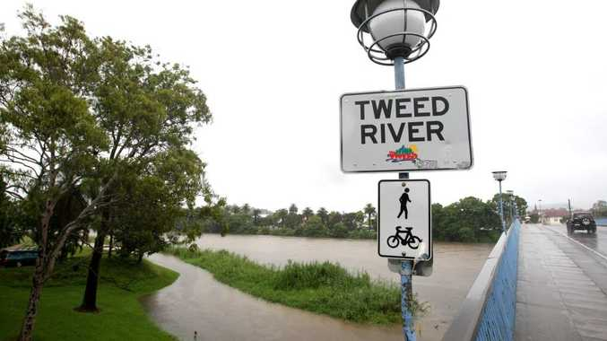 The Tweed River is expected to flood this afternoon at Murwillumbah and Chinderah.