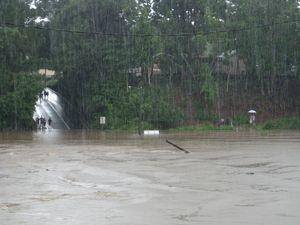 Heavy showers keep waters rising