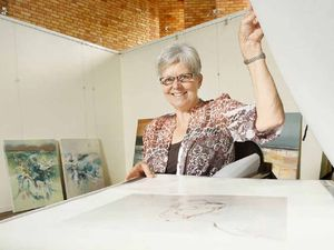 Contrasting art styles go on show