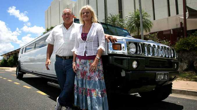 Bill and Shelly Boswood, of Hummer Luxury Limo CQ, are looking forward to displaying their deluxe vehicle at the Rockhampton Heritage Village Australia Day markets.