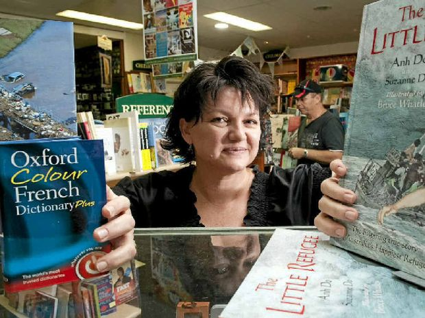 Mary Ryan's Bookshop owner Leanne Grundon believes traditional books will remain popular despite the rising popularity of ebooks.