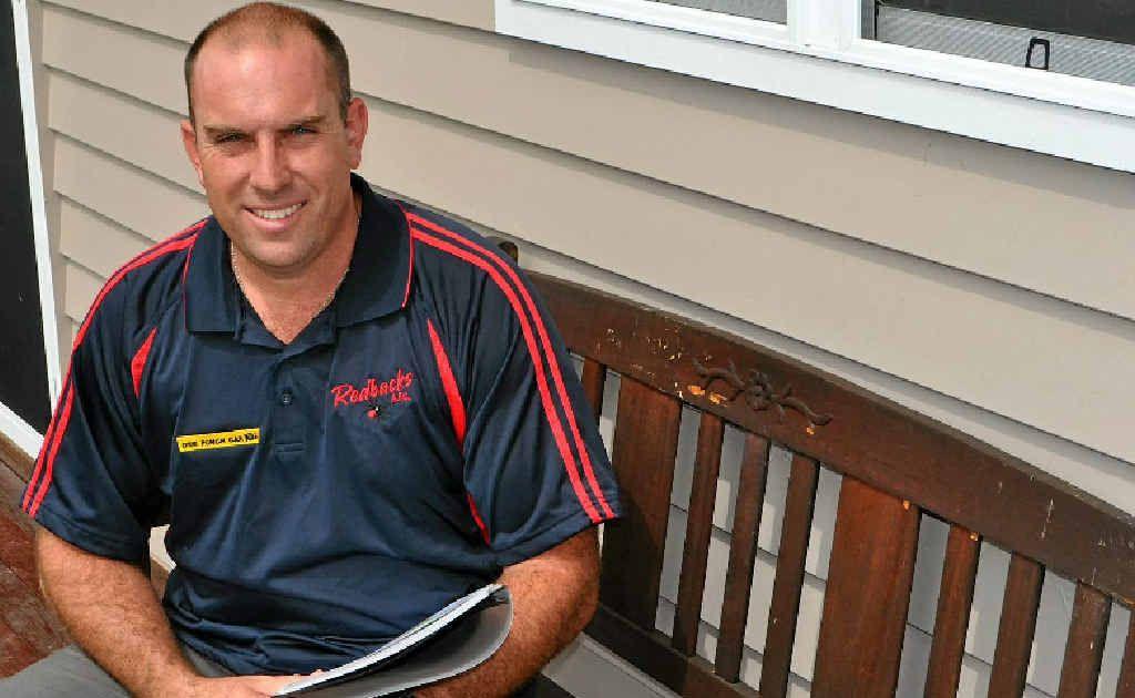 Jason Wright has taken over as Redbacks AFL A-grade coach.
