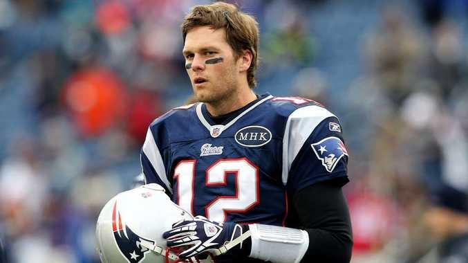 New England Patriots' Tom Brady.
