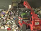 Screen grab of the recycling centre video.