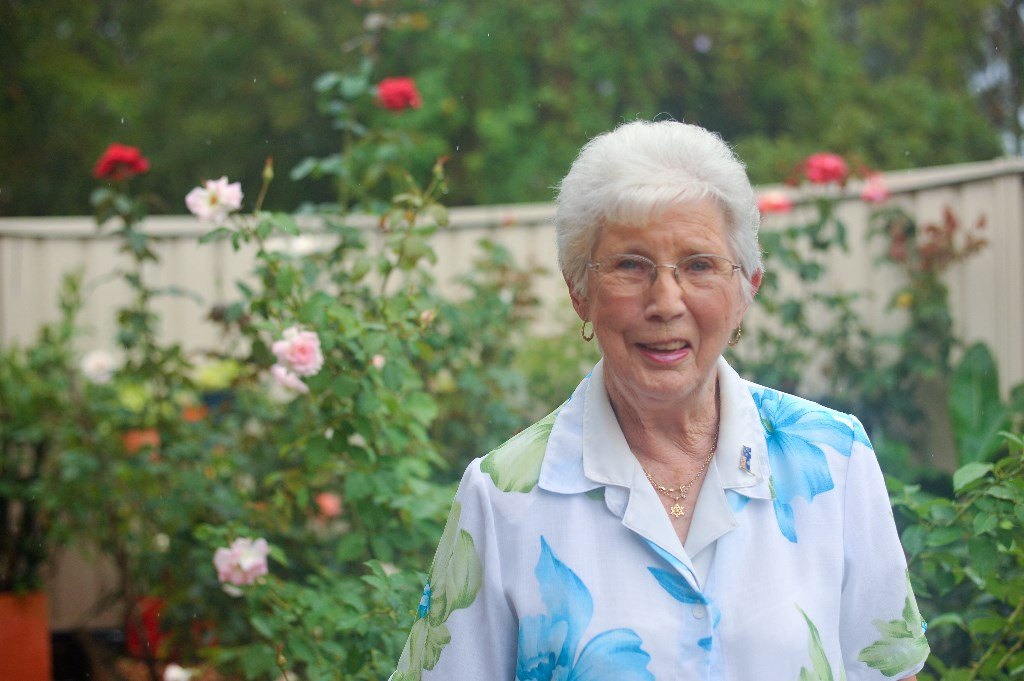 Sawtell's Pat Roser is honoured by her OAM.