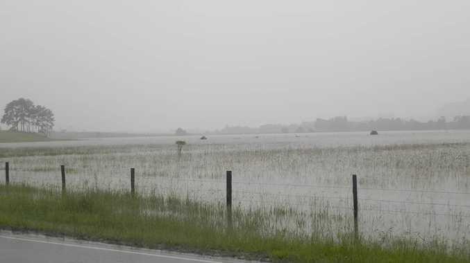 Wet weather across the Sunshine Coast.