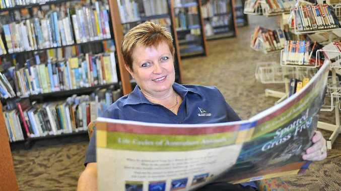 Gladstone City Library user services librarian Lisa Ryan is encouraging the community to renew or find a new passion for books in celebration of 2012 being National Year of Reading.