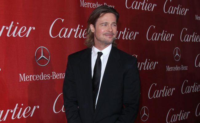 Brad Pitt says cannabis turned him into a '