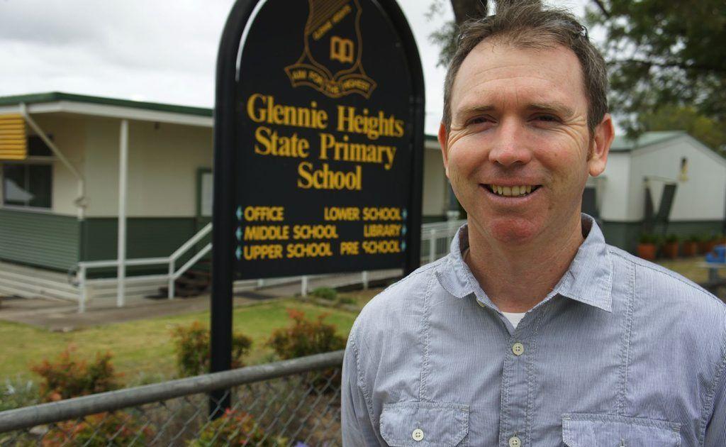 New Principal at Glennie Heights State Primary School, Paul O'Mara.