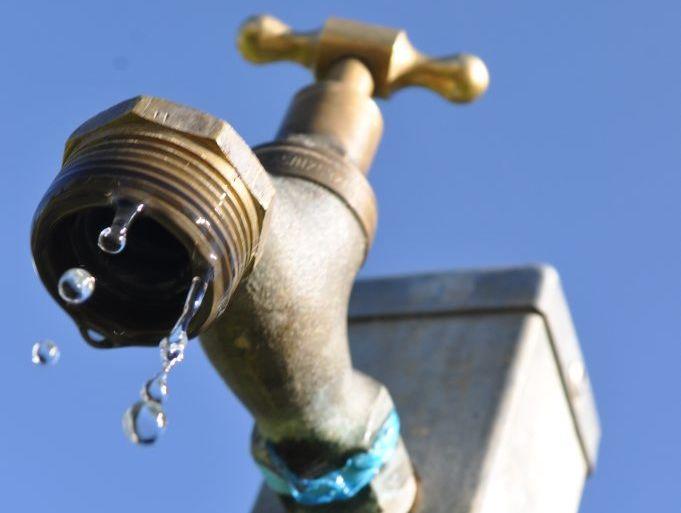 Uki's water supply was temporarily shut down.