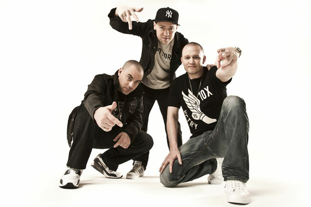 The most popular artist downloaded in Australia was Adelaide hip-hop group the Hilltop Hoods.