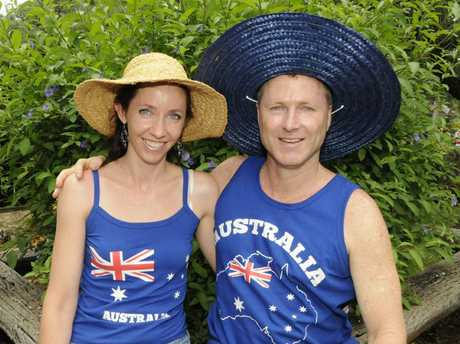 The Aussie spirit shines at the Highfields Pioneer Village this Australia Day.