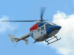 Skydiver injured in steep fall