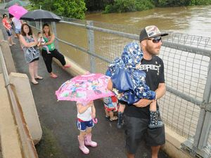 Deluge to hit Kidd Bridge