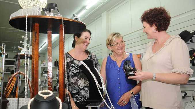 We've all got plenty to smile about, according to (above) Nicky Kolbe, Jenny Waldock and Wendy Boraso at Foxy Lady.