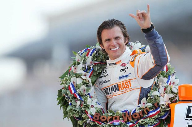 Tragedy... Dan Wheldon (pic) succumbed to the dangers of racing.