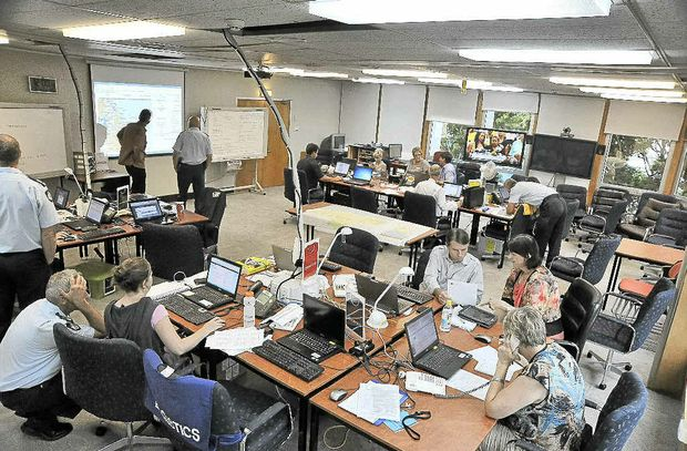 The Sunshine Coast Disaster and Emergency Coordination Centre.