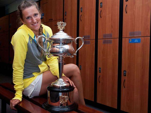 Victoria Azarenka wins the Australian Open.