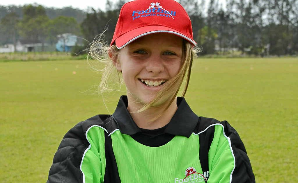 Savannah Boller will wear the gloves for the Northern NSW under-13 girls side at the National Junior Championships.