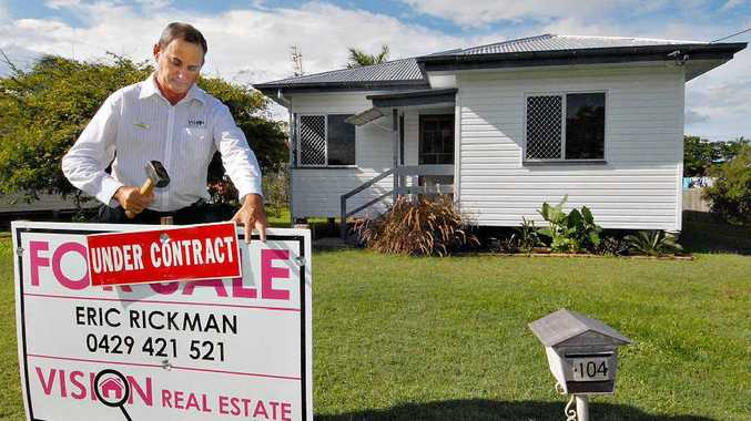 Vision Real Estate Mackay principal Eric Rickman sold this South Mackay home in record time – and its buyers didn't even want to look inside first.