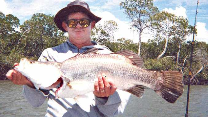 BARRA WHISPERER: Darrell McLennan is a barramundi specialist. Having fished for the iconic species as long as he cares to remember, Darrell says this barra season is shaping up to be one of the best in decades.