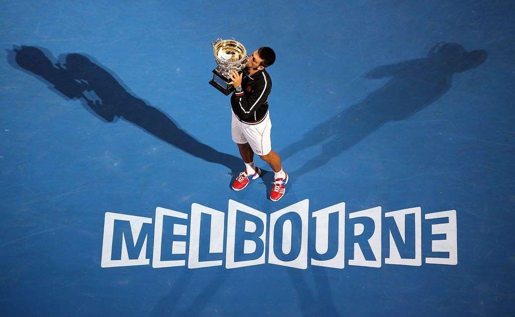 2012 Australian Open champion Novak Djokovic.